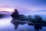 Dordogne River in the Mist