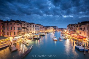 Night time Grand Canal